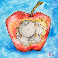 Clockwork Apple by maledictus