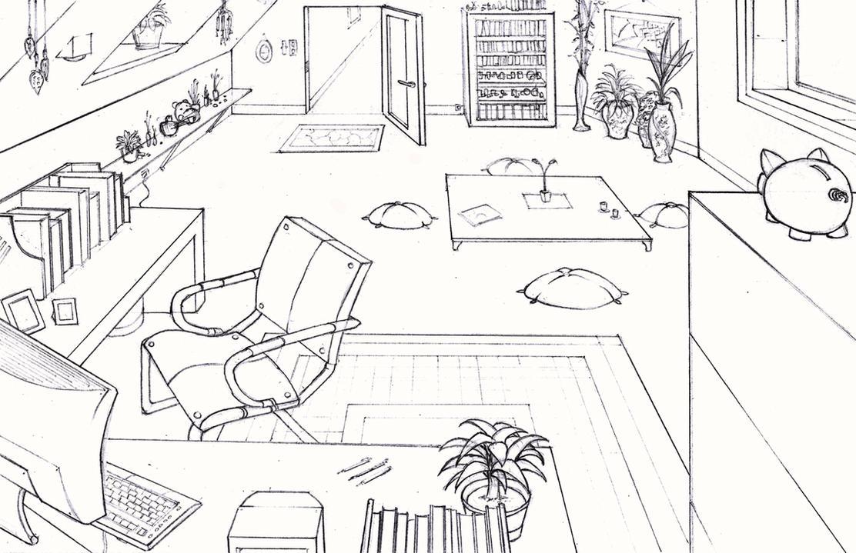 Study Room By Longjh On Deviantart