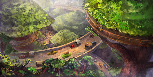 Treetop Highway by LongJh