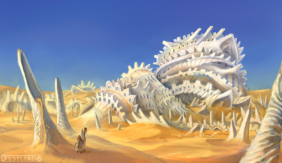 Remnants in the Desert by LongJh