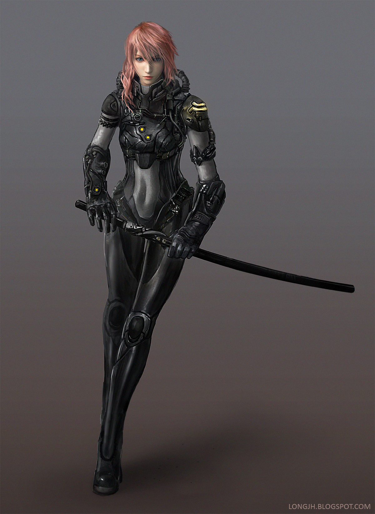 Lightning Returns: Dark Bahamut Exosuit by LongJh