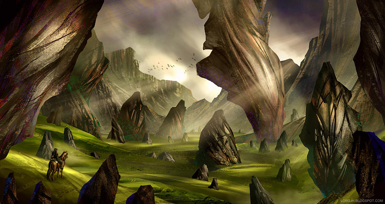Stonefang Valley by LongJh