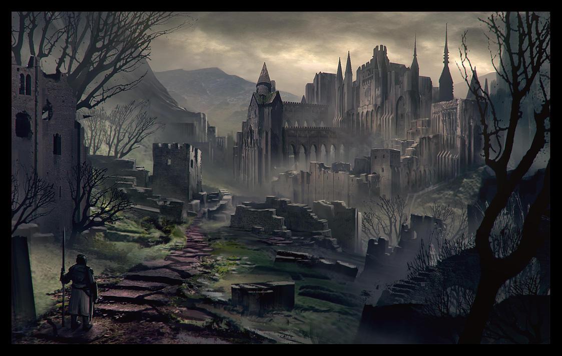 The Dark Citadel by LongJh