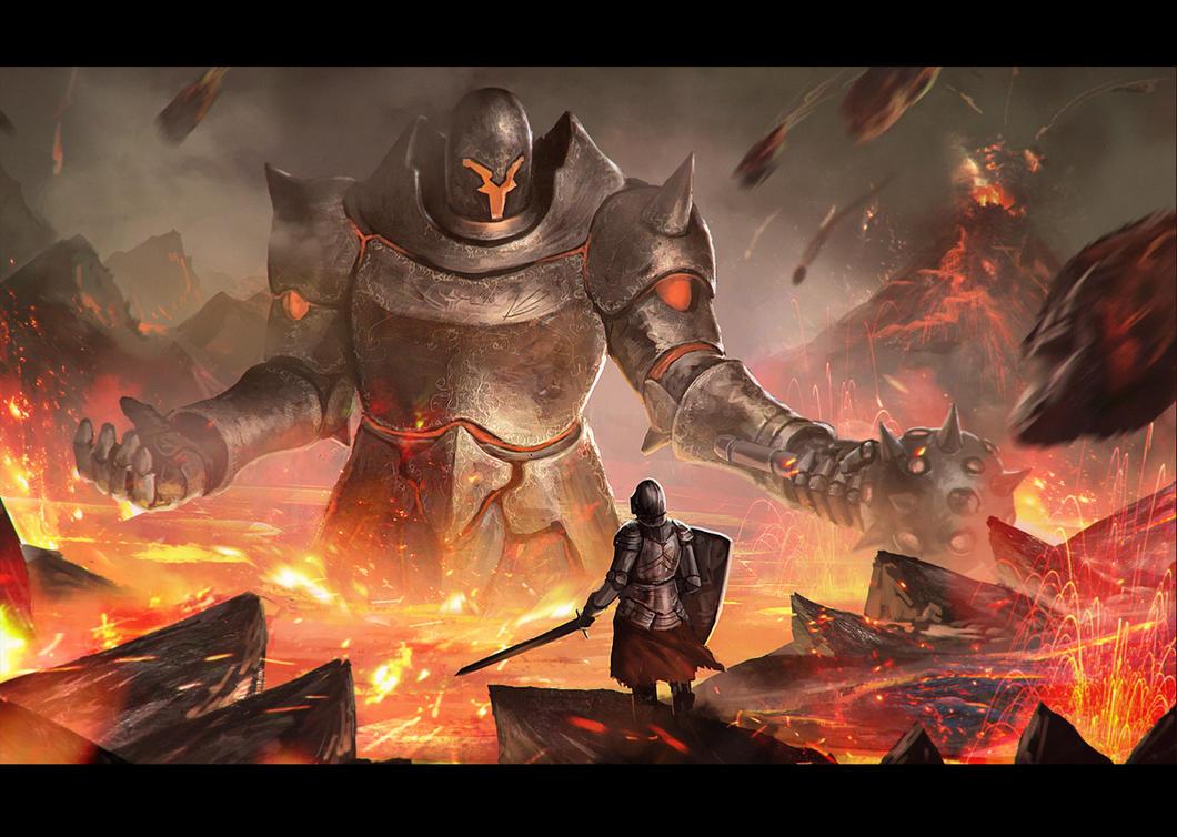 Lava Titan by LongJh