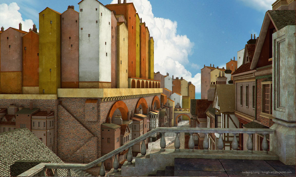 3D Environment City by LongJh
