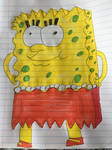Lisa Simpson (SpongeBob SquarePants Style)