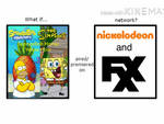 What if SpongeSons crossover aired on Nick  FXX?