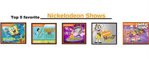 My Top 5 Favorite Nickelodeon Shows