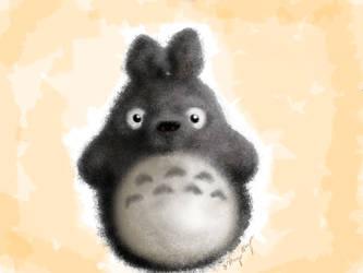 Totoro Stuffie by Phobia-Phobia
