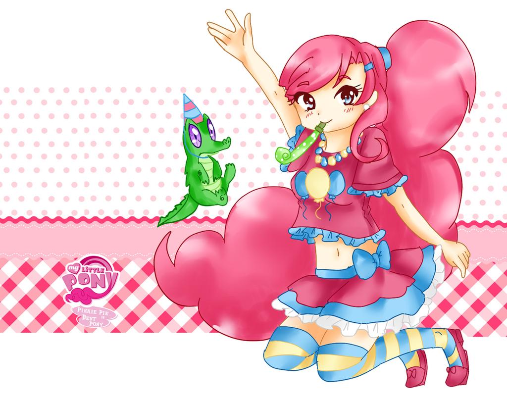 Pinkie Pie by Haruliina