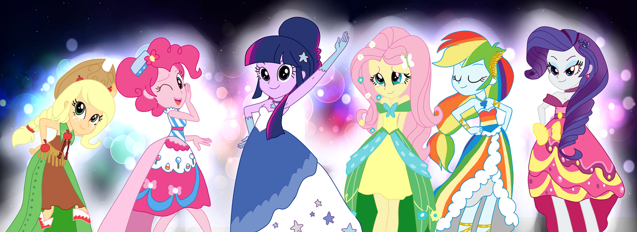 EQG The Gala By Haruliina On DeviantArt