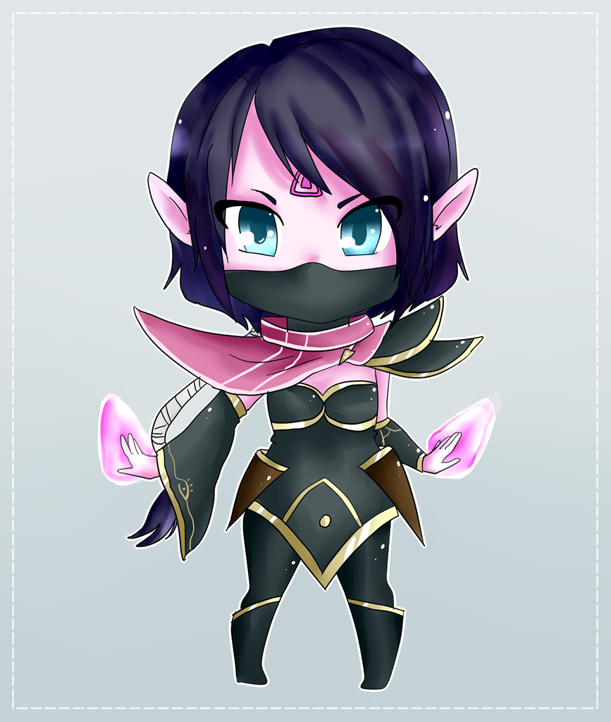 Chibi Lanaya by Haruliina on DeviantArt