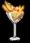 Cockatiel glass