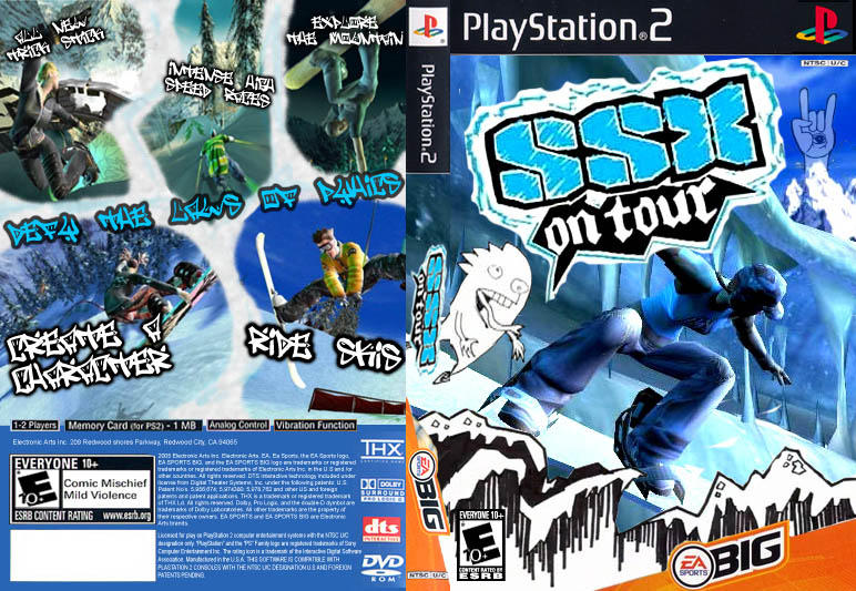 SSX On Tour Box Art by Royank