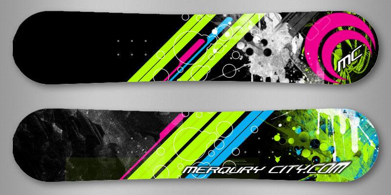 Merqury City SSX Blur Board by Royank