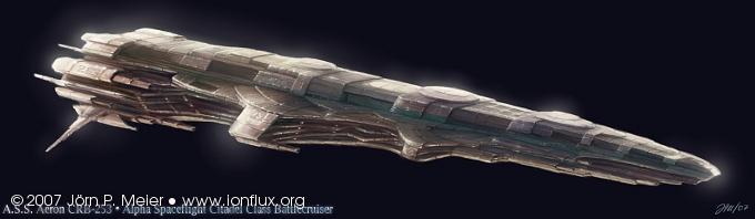 Xegity: Battlecruiser by IonfluxDA