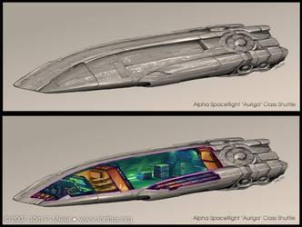 Xegity: Auriga Class Shuttle by IonfluxDA