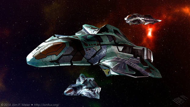 Heavy Space Fighter