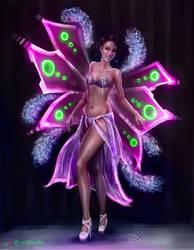 Burlesque Dancer by IonfluxDA