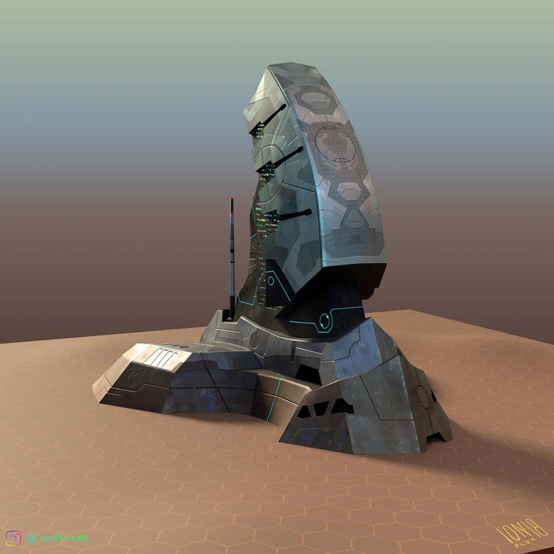 Colony Command Center (3D model)
