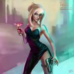 Tess Fanart (OC by Raiko)