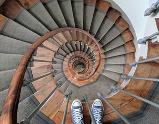 Paris Staircase by lynchenstein
