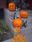 Alcohol and Pumpkins by Giddy-kun2021