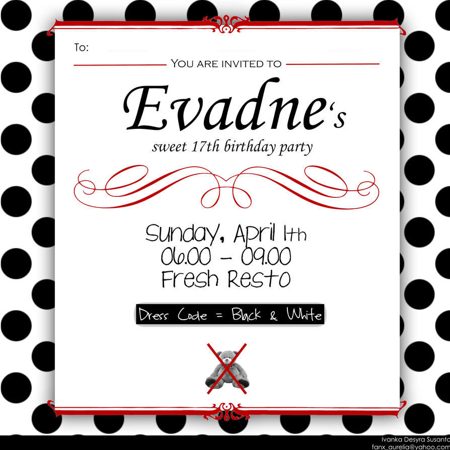 Design Th Birthday Invitations Free