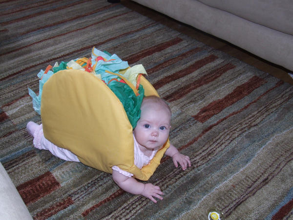 baby taco costume by rawxy