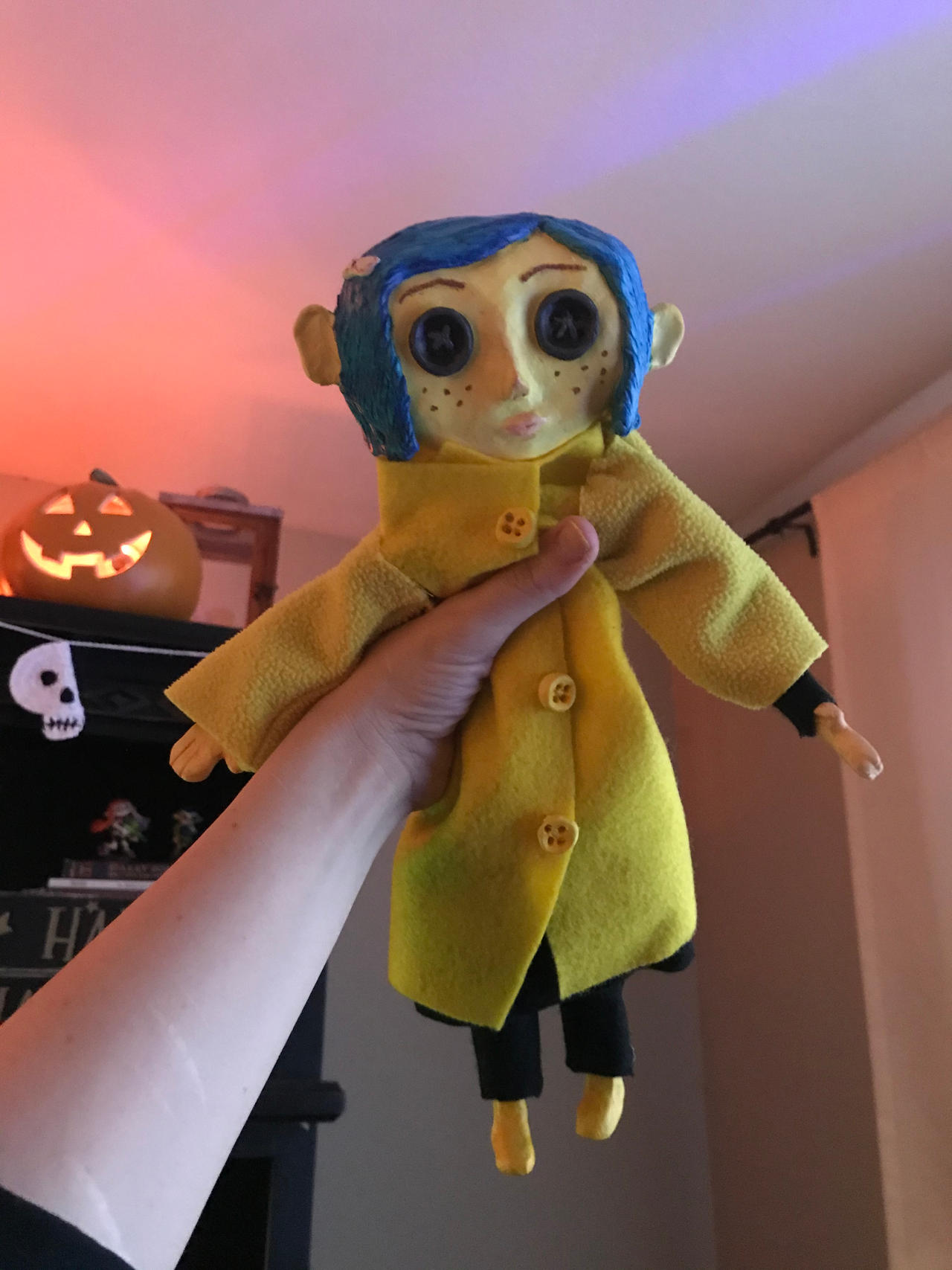 Coraline Doll By Rawxy On Deviantart