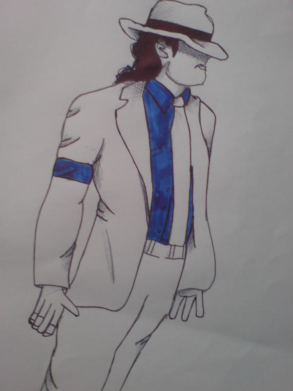 michael jackson sketch smooth - photo #3