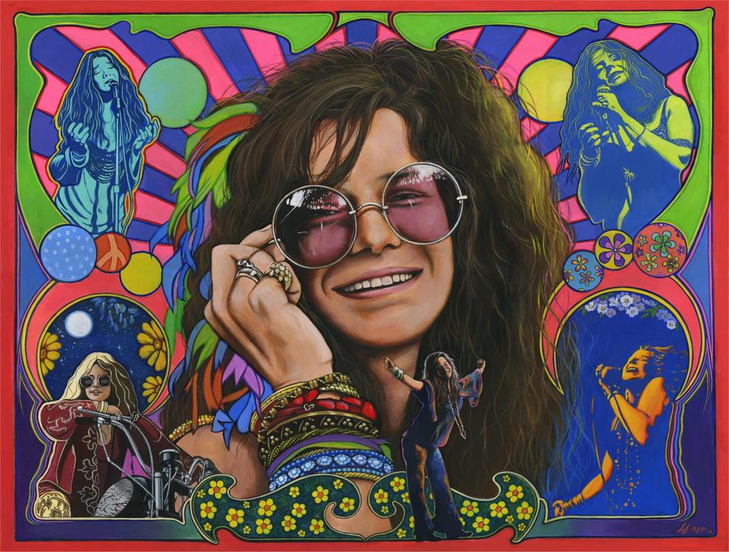 Резултат с изображение за janis joplin art