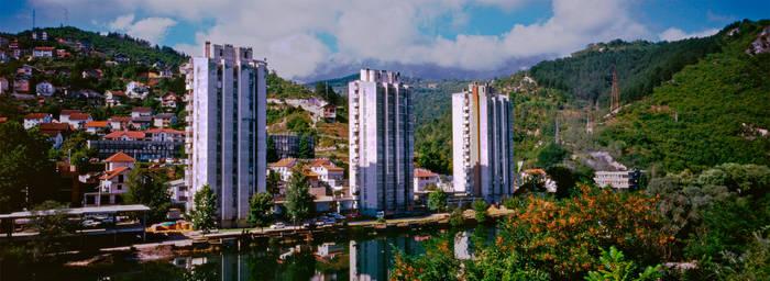 bosnia skyline by krrrr1234