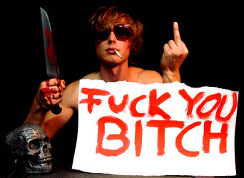 Fuck you bitch by krrrr1234