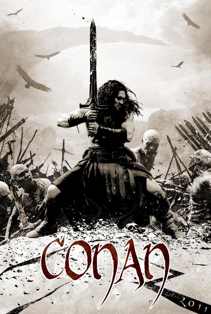 Poster design deviantart - Conan Teaser Poster Design By Timbradstreet