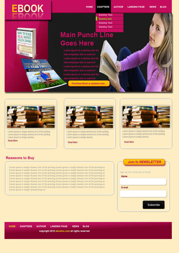 Web page of e-Book by Shahzadd