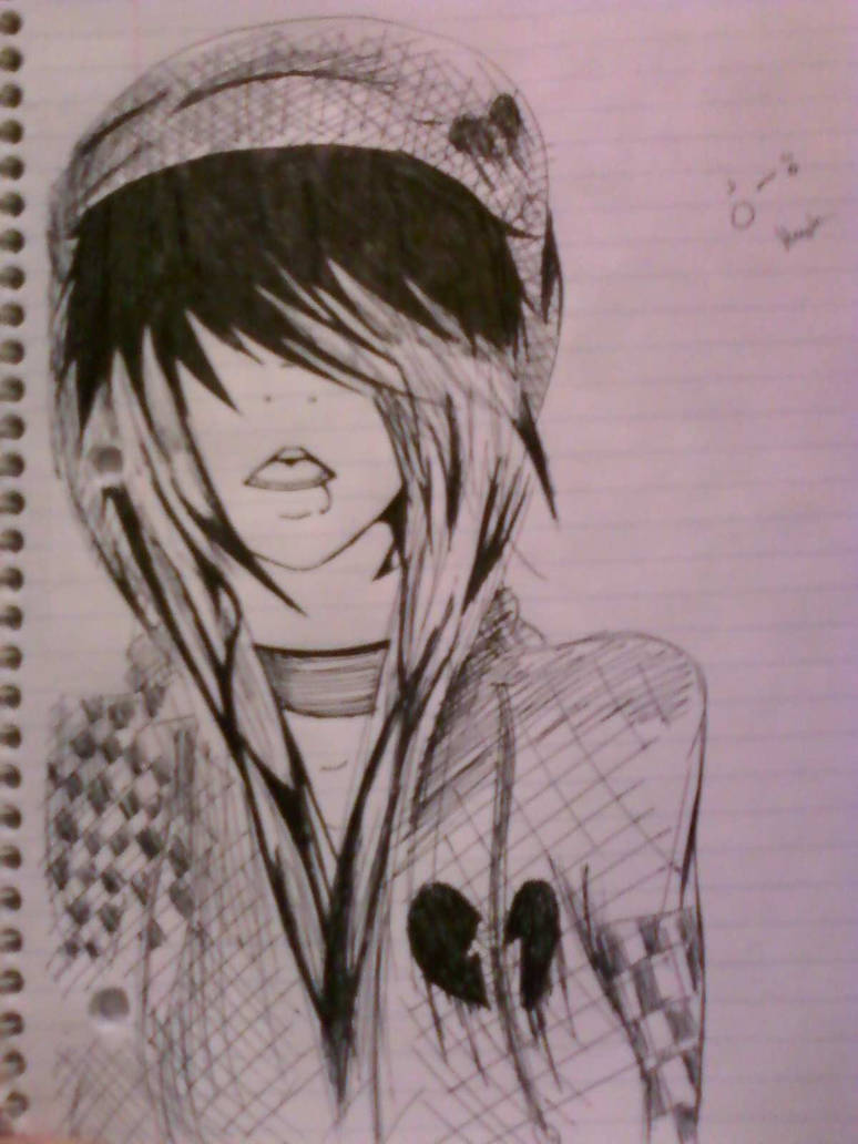 Random emo drawing by sarathineo