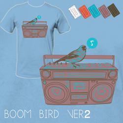 Boom Bird Ver 2 by grrlmarvel