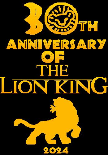 The Lion King 30th Anniversary Logo By Lionadventuresart On Deviantart
