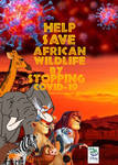 African Wildlife COVID-19 Poster