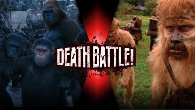 Apes (Planet of the Apes)vs Beastfolk ( Dr.Moreau)