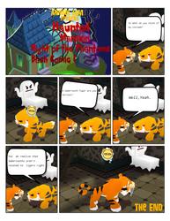 Night of the Phantoms Bash Comic 1