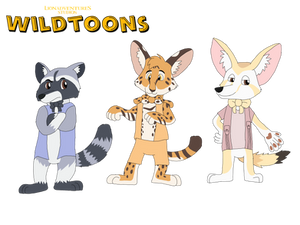 The New Characters of Wildtoons