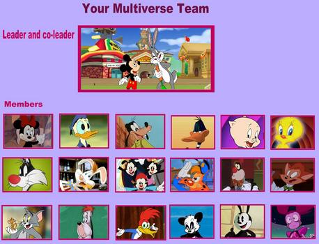 Multiverse Team- ToonTown Squad