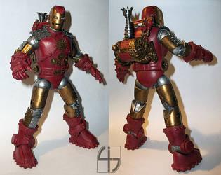 Steampunk Iron Man by fourth-heir