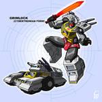 Grimlock - Pre-Earth style