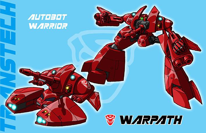 TransTech Warpath by fourth-heir