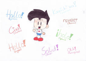hello by Chibi-Danny