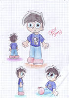 Danny with 6 years by Chibi-Danny