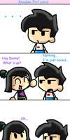 random DxS comic by Chibi-Danny